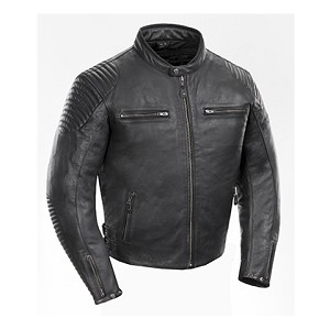 Joe Rocket Sprint TT Black Leather Jacket
