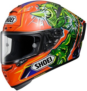 SHOEI X-14 Power Rush Helmet