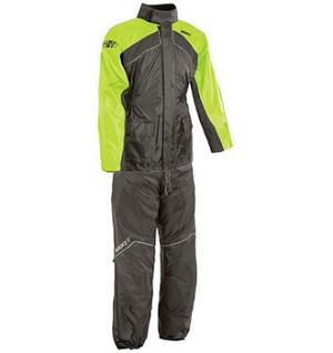 Joe Rocket RS-2 Mens Two Piece Hi Viz Rainsuit