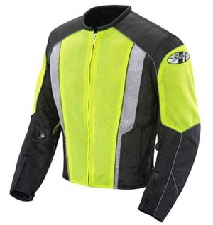 Joe Rocket Phoenix 5.0 Mesh Hi Viz Jacket
